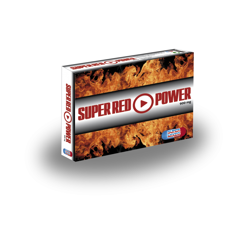 SUPER RED POWER - 2un